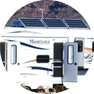 Solar powered RV