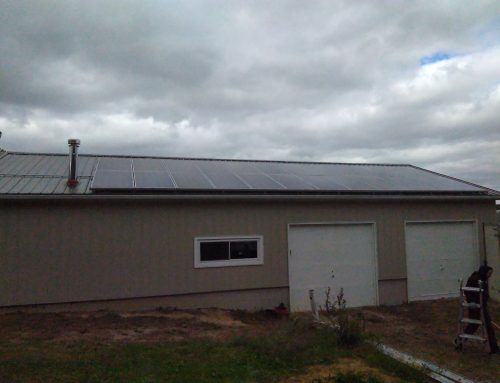 Residential Hybrid System, 7.6kW Solar + Battery Backup – Three Oaks, MI