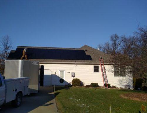 Residential Solution, Grid Tie, Solaria Black on Black, 6.8kW – Goshen, IN